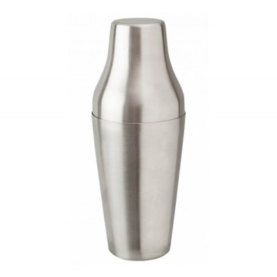 2 Piece French Shaker Stainless Steel 650ml