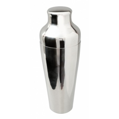 2 Piece Art Deco Shaker Stainless Steel 550ml