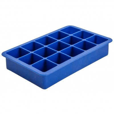 15 Cavity Silicone Ice Cube Mould 1.25″ Square