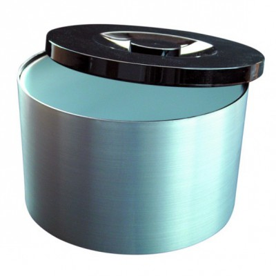 Brushed Aluminium Effect Ice Bucket 10L