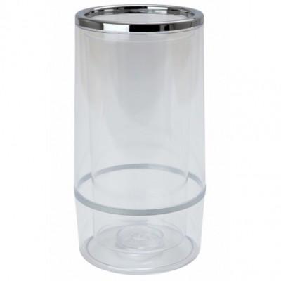 Chrome & Plastic Wine Cooler