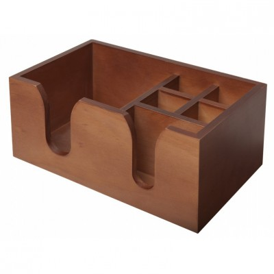 Bar Caddy Wooden