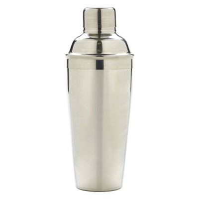 3 Piece Cocktail Shaker Stainless Steel 750ml