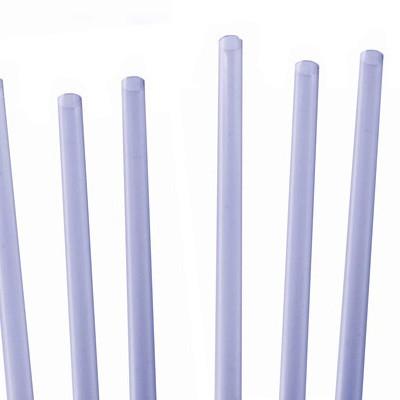 "Jumbo Straight 5.5"" Straw 6mm Bore Clear"